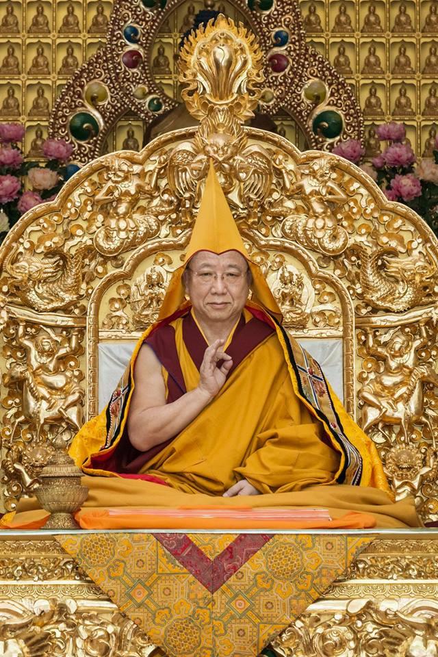 Jangtse Choeje Kyabje Gosok Rinpoche 2018 Toronto